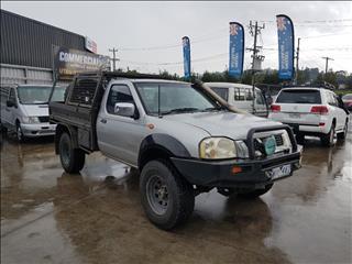 2005 NISSAN NAVARA ST-R (4x4) D22 C/CHAS