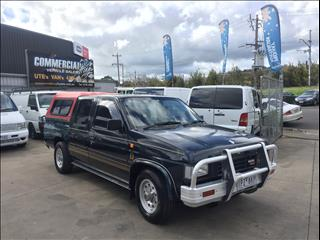 1992 NISSAN NAVARA DX (4x2) DUAL CAB P/UP