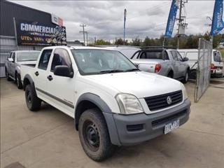 2006 HOLDEN RODEO LX (4x4) RA MY06 UPGRADE CREW CAB P/UP