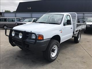 2000 FORD COURIER GL (4x4) PE CREW CAB P/UP