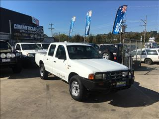 2002 FORD COURIER GL (4x4) PE CREW CAB P/UP