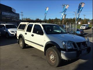 2005 HOLDEN RODEO LX (4x4) RA CREW CAB P/UP