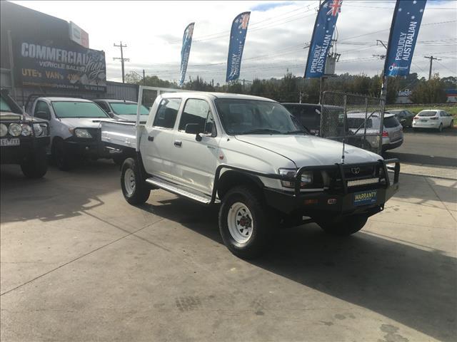 2002 TOYOTA HILUX (4x4) LN167R DUAL CAB P/UP