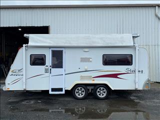 2007 17.6FT JAYCO STERLING POP TOP