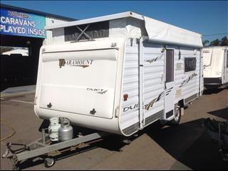 "USED 18'X7'6"" 2007 PARAMOUNT DUETT POP TOP"
