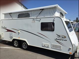 "USED 17'6""x7'9"" 2007 JAYCO STERLING POP TOP"