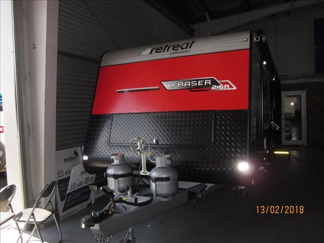 NEW 2018 RETREAT FRASER 216R Caravan