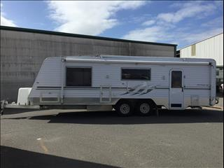 USED 2009 25FT DIAMOND ROSE CUT ADELAIDE SERIES
