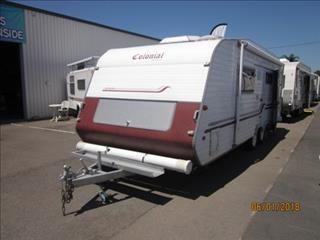 "USED 2003 21'6""x7'9"" COLONIAL (BY IMPERIAL) SYDNEYSIDER CARAVAN"