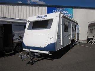 "USED 21'6""x7'9"" 2007 JAYCO STERLING CARAVAN"