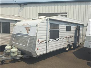 "2006 21'x7'9""USED CONCEPT ASCOT CARAVAN - REDUCED PRICE"