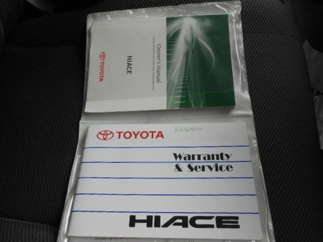 2011 TOYOTA HIACE LWB KDH201R MY11 UPGRADE 4D VAN