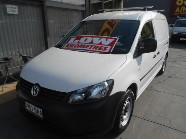 2014 VOLKSWAGEN CADDY MAXI TDI250 BLUEMOTION 2K MY13 5D VAN