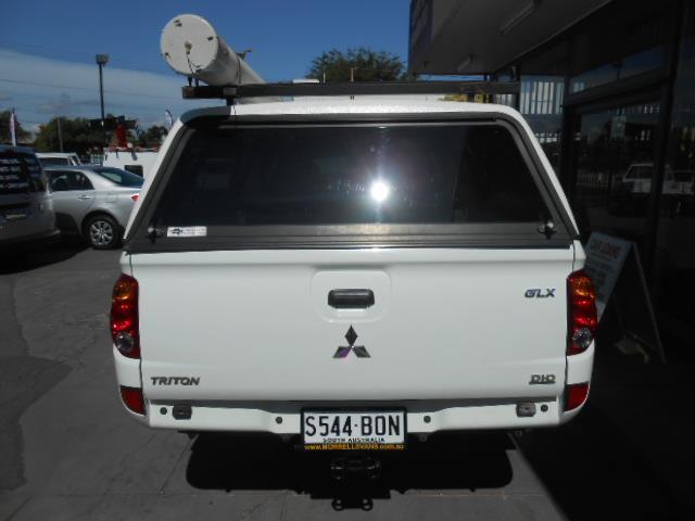 2010 MITSUBISHI TRITON GLX 4X4 MN MY11 DOUBLE CAB UTILITY
