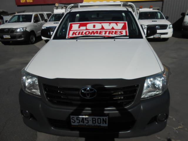 2011 TOYOTA HILUX WORKMATE TGN16R MY11 UPGRADE CCHAS