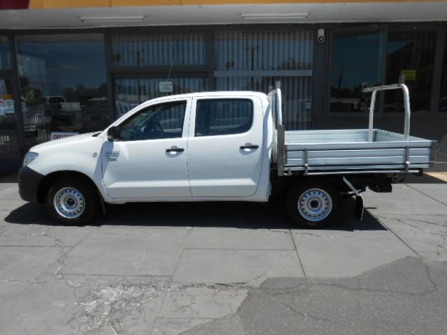 2009 TOYOTA HILUX WORKMATE TGN16R 09 UPGRADE DUAL CAB PUP