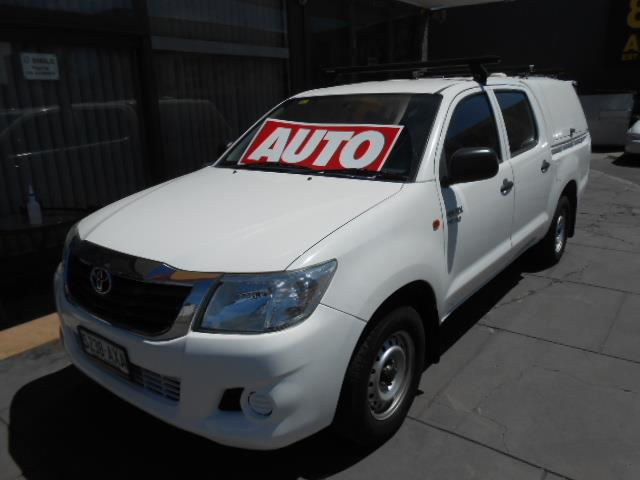2013 TOYOTA HILUX SR GGN15R MY12 DUAL CAB PUP