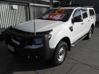 2013 FORD RANGER XL 3.2 4X4 PX DUAL CAB UTILITY