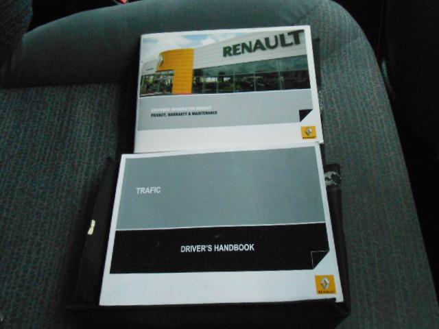 2011 RENAULT TRAFIC 2.0 DCI SWB L1H1 MY11 2D VAN