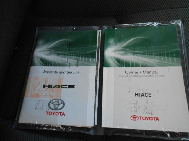 2012 TOYOTA HIACE LWB KDH201R MY12 UPGRADE 4D VAN