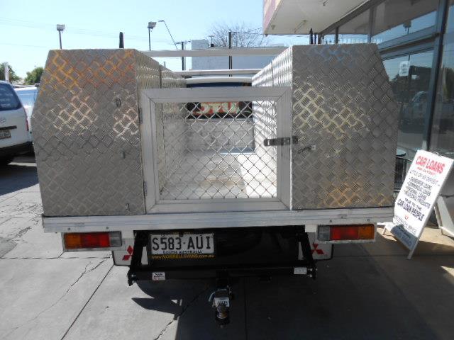 2012 MITSUBISHI TRITON GLX MN MY12 CCHAS