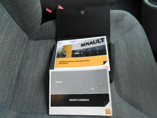 2012 RENAULT TRAFIC 2.0 DCI SWB L1H1 MY11 2D VAN