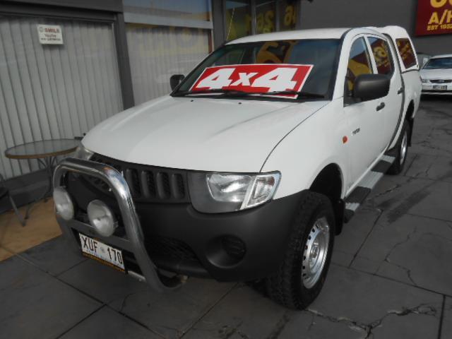 2008 MITSUBISHI TRITON GLX 4X4 ML MY09 DOUBLE CAB UTILITY