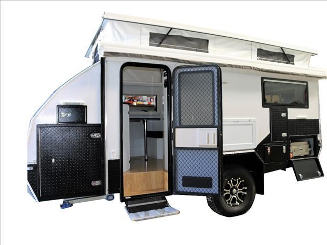 JAWA TRAX-15 Off-road Hybrid Caravan - Sleeps 2