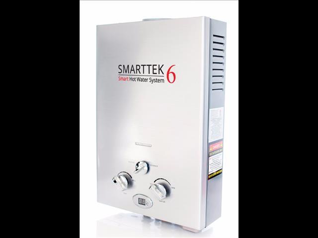 Smarttek6 Portable Smart Hot Water System for Caravans, Camping, Offroad