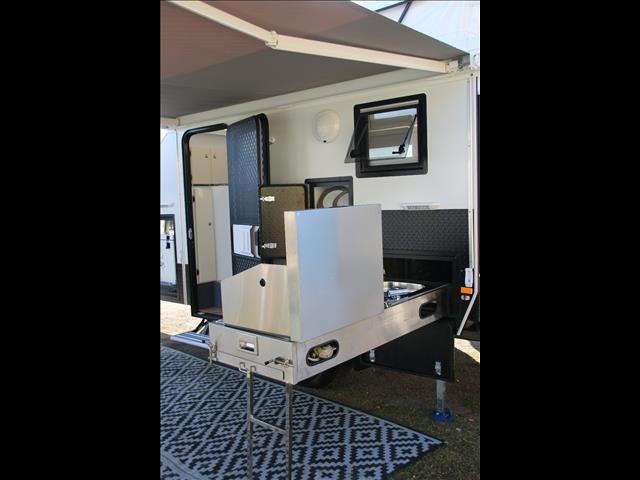 Brilliant New JAWA TRAX12 Offroad Hybrid Caravan  Sleeps Up To 4 For Sale In