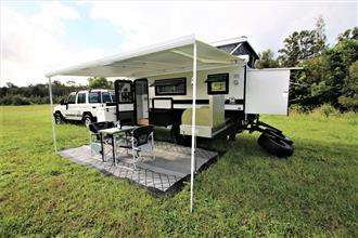 "TRAX15-X ""Silver Series"" JAWA Off-road Hybrid Caravan - Dinette + Bunk + Ensuite"