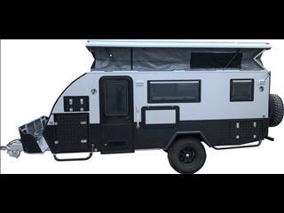 "TRAX-15 ""Silver Series"" JAWA Off-road Hybrid Caravan - Dinette + Bunk + Ensuite"
