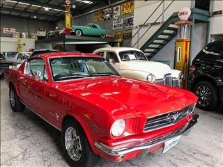 1965 FORD  MUSTANG FASTBACK V8 RHD COMPLIED 4 SPEED MAN RARE BEAST
