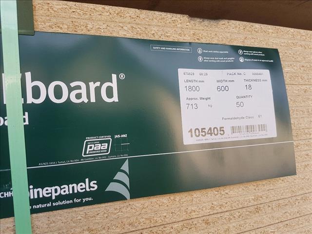 Chipboard 18mm 1800x600mm