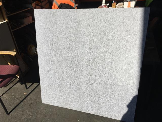 Acoustic panels / Pinboard