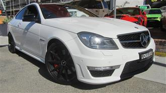 2011 MERCEDES-BENZ C63 AMG W204 MY12 2D COUPE