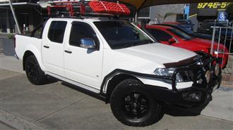 2014 NISSAN NAVARA ST-X 550 4X4 D40 MY12 DUAL CAB UTILITY