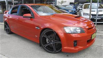 2007 HOLDEN COMMODORE SS-V VE MY08 4D SEDAN