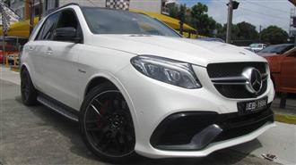 2016 MERCEDES-AMG GLE 63 S 4MATIC 166 MY17 4D WAGON