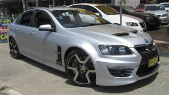 2010 HOLDEN SPECIAL VEHICLE GTS  E3 4D SEDAN