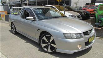 2006 HOLDEN COMMODORE SS THUNDER VZ MY06 UPGRADE UTILITY
