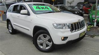 2012 JEEP GRAND CHEROKEE LAREDO 4X4 WK MY12 4D WAGON