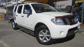 2011 NISSAN NAVARA ST-X 550 4X4 D40 DUAL CAB UTILITY