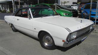 1970 CHRYSLER VALIANT  VG 2D COUPE