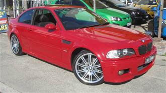 2004 BMW M3  E46 2D COUPE