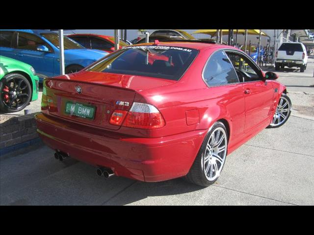 2004 BMW M3  E46 2D COUPE