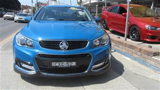2014 HOLDEN COMMODORE SS-V VF MY15 4D SEDAN