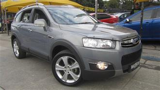 2012 HOLDEN CAPTIVA 7 LX 4X4 CG SERIES II 4D WAGON