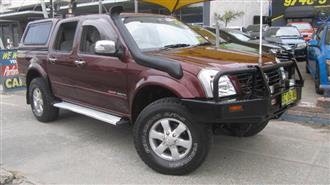 2006 HOLDEN RODEO LT 4X4 RA MY06 UPGRADE CREW CAB PUP