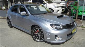 2011 SUBARU WRX PREMIUM AWD MY12 5D HATCHBACK